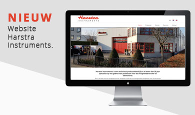 Lancering nieuwe website voor Harstra Instruments.
